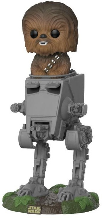 Figurka Funko POP! Star Wars - Chewbacca with AT-ST Deluxe
