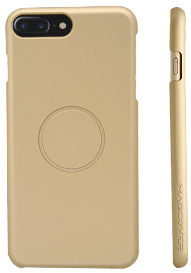 MagCover magnetický obal pro iPhone 6/6s/7/8 Plus zlatý