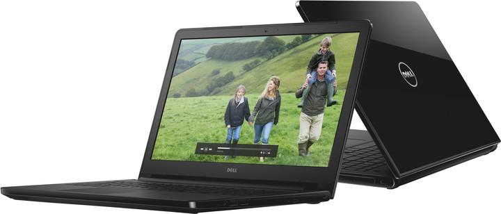 Dell Inspiron 15 (5558), černá lesklá