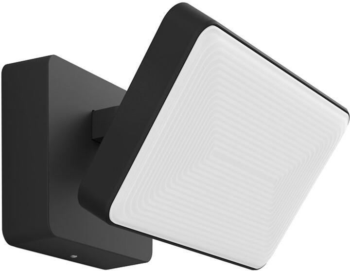 PHILIPS Welcome Venkovní nástěnné svítidlo, Hue White, integr.LED, antracitová