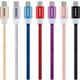 ADATA Micro USB kabel pletený, 1m, červený