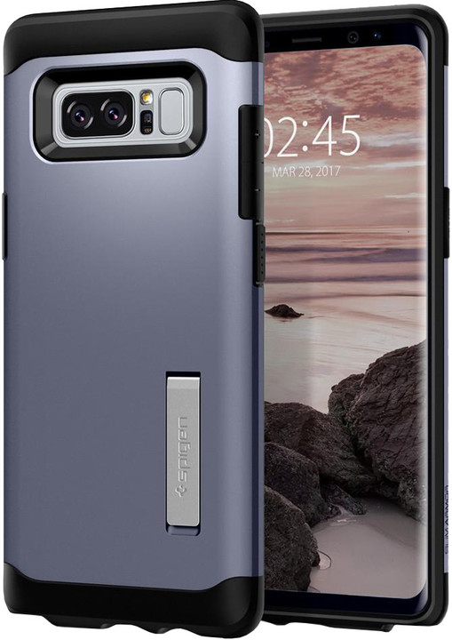 Spigen Slim Armor pro Galaxy Note 8, orchid gray