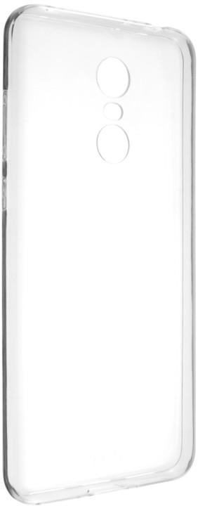 FIXED Skin ultratenké TPU gelové pouzdro pro Xiaomi Redmi Note 5 Global, 0,5 mm, čiré