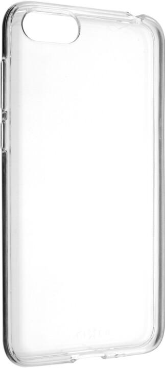 FIXED Ultratenké TPU gelové pouzdro Skin pro Huawei Y5 (2018), 0,6 mm, čirá