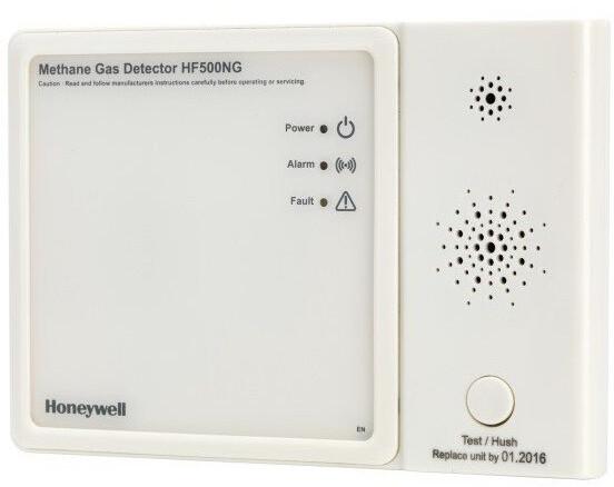 Honeywell HF500NG-EN Detektor úniku úniku zemního plynu