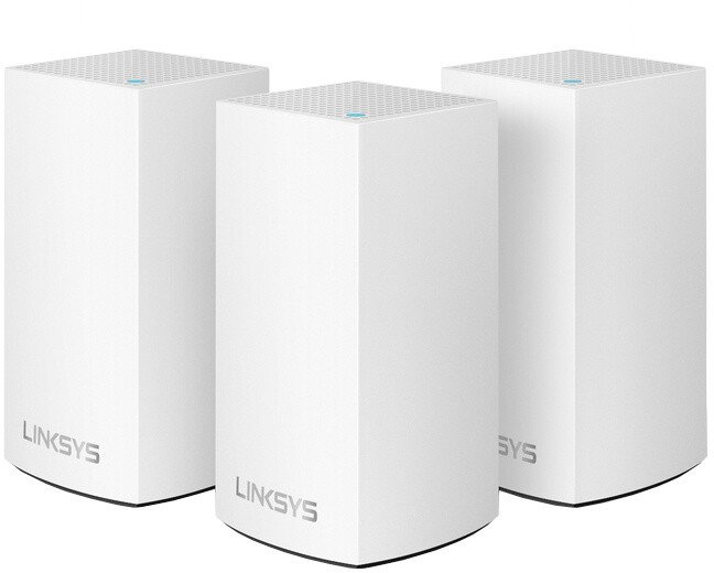 Linksys Velop Whole Home Intelligent System, Dual-Band, (AC3900), 3ks