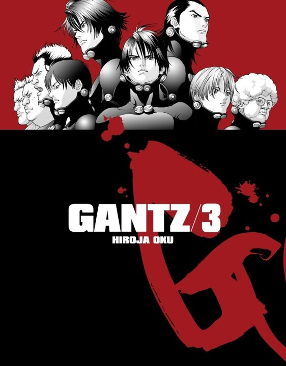 Komiks Gantz, 3.díl, manga