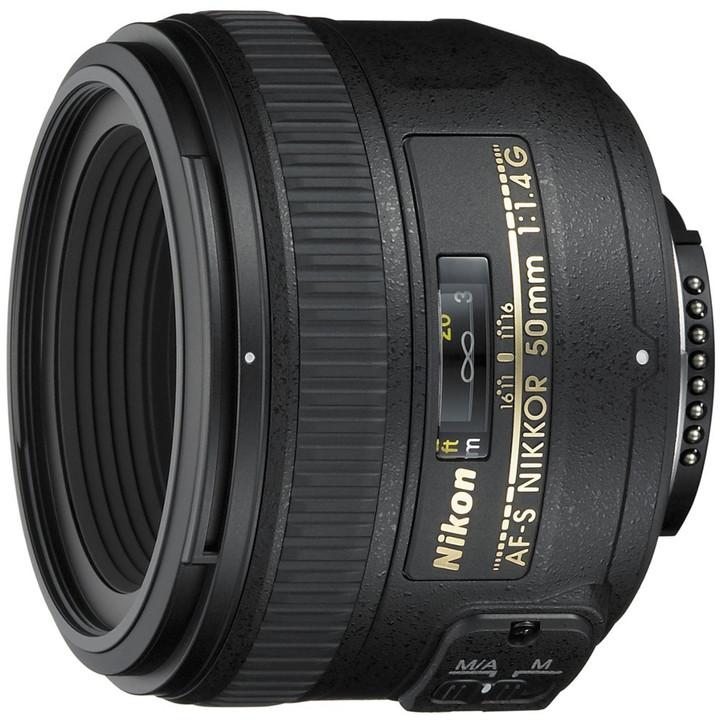 Nikon objektiv Nikkor 50mm f1.4 G AF-S