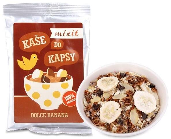 Mixit kaše do kapsy Dolce Banana - banán/čokoláda, 70g