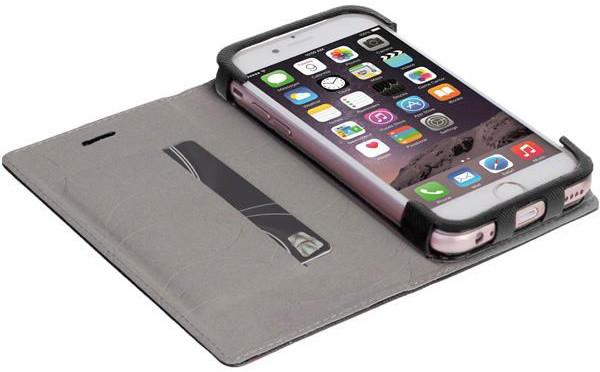Krusell MALMÖ FolioCase flipové pouzdro pro Apple iPhone 7, černá