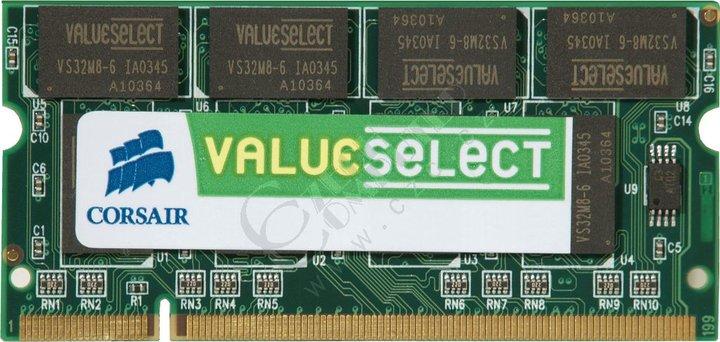 Corsair Value 1GB DDR2 667 (VS1GSDS667D2) SO-DIMM