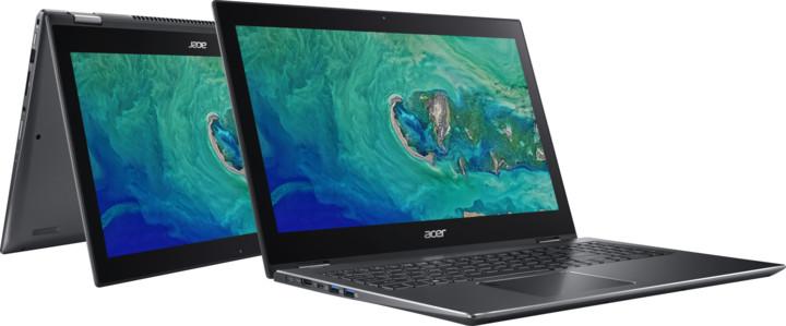 Acer Spin 5 kovový (SP515-51N-563G), šedá