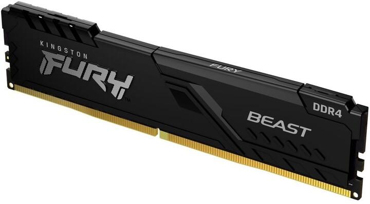 Kingston Fury Beast Black 8GB DDR4 3733 CL19