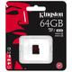 Kingston Micro SDXC 64GB Class 10 UHS-I U3