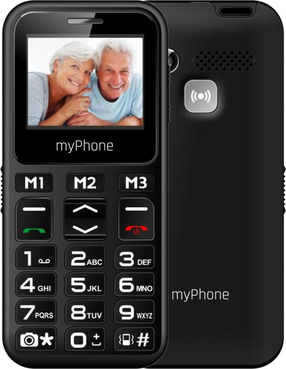 myPhone HALO MINI, černá