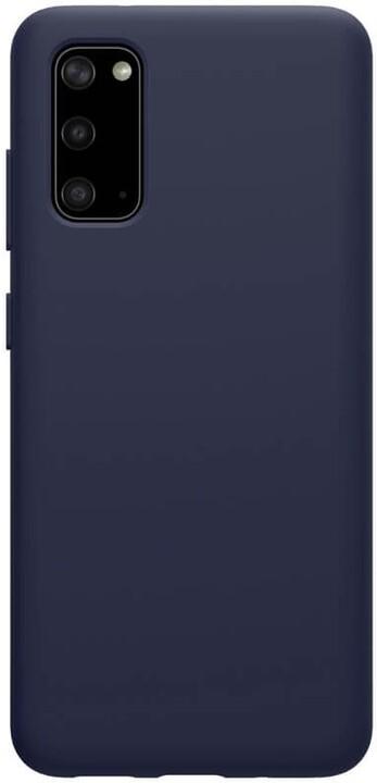 Nillkin silikonové pouzdro Flex Pure Liquid pro Samsung Galaxy S20, modrá