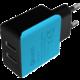 Nabíječka USB C-TECH UC-01, 2x USB, 2,1A, černo-modrá (v ceně 159 Kč)