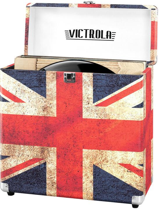 Victrola Retro Vinyl pouzdro, UK flag