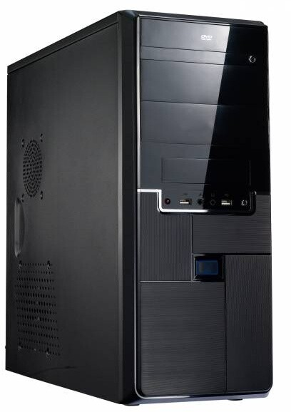 EuroCase ML X315, bez zdroje, černá
