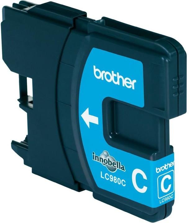 Brother LC-980C, cyan