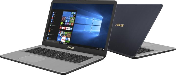 ASUS VivoBook Pro 17 N705FD, šedá
