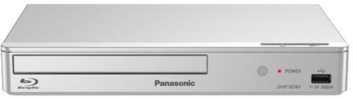 Panasonic DMP-BD84EG-S, stříbrná