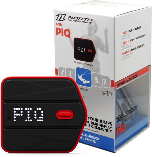PIQ North sportovní senzor a tréninkové příslušenství pro kitesurfing