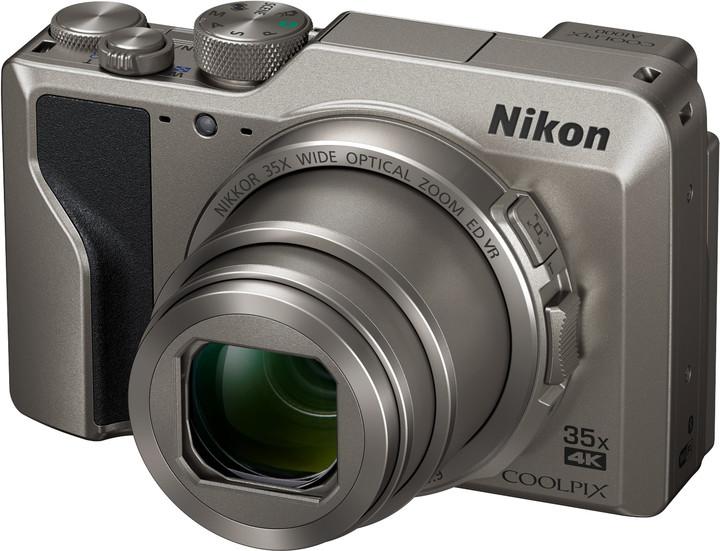 Nikon Coolpix A1000, stříbrná