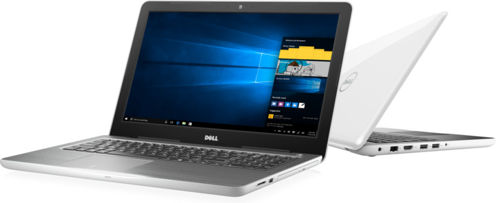 Dell Inspiron 15 (5567), bílá