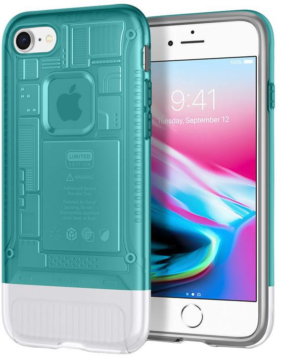 Spigen Classic C1 pro iPhone 8/7, tyrkysová