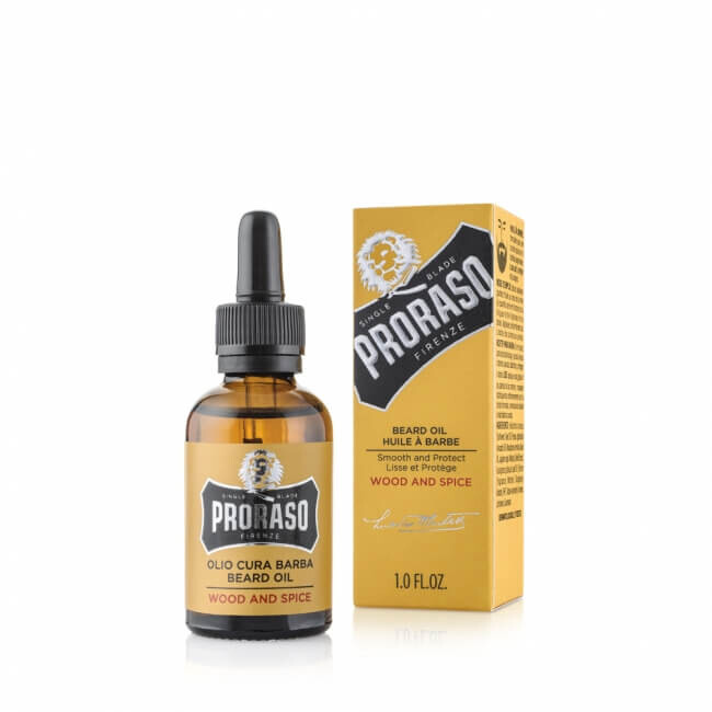 Proraso Wood and Spice olej na vousy 30 ml