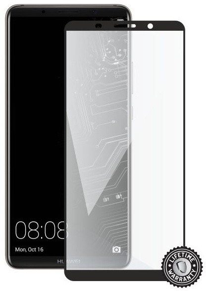 Screenshield pro HUAWEI Mate 10 Pro Tempered Glass protection (full COVER black)