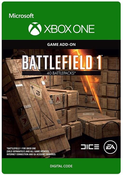 Battlefield 1: Battlepack X40 (Xbox ONE) - elektronicky