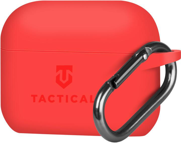 Tactical ochranné pouzdro Velvet Smoothie pro Apple AirPods Pro, červená