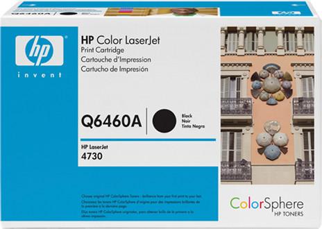 HP Q6460A, černá