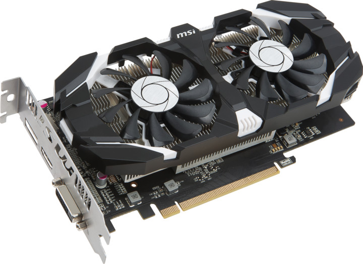 MSI GeForce GTX 1050 Ti 4GT OC, 4GB GDDR5