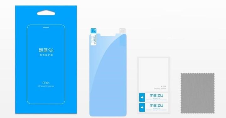 MEIZU ochranná folie HD Screen Protector pro Meizu M6s