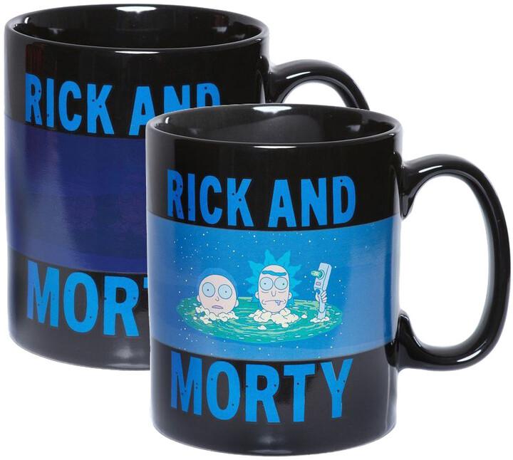 Hrnek Rick and Morty - Portal (měnící se)