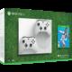 Xbox ONE S, 1TB, bílá + druhý ovladač + FIFA 19