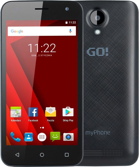 myPhone Go, černá