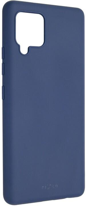 FIXED pogumovaný kryt Story pro Samsung Galaxy A42, modrá