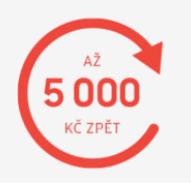 Cashback 4 000 Kč