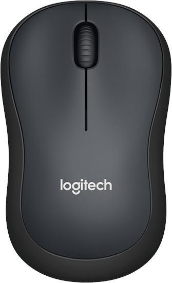 Logitech M220 Silent, černá