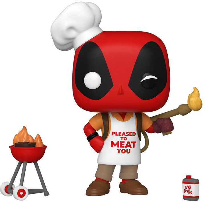 Figurka Funko POP! Deadpool - Backyard Griller Deadpool