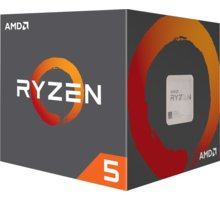 AMD Ryzen 5 1600 s chladičem Wraith Stealth, 12nm