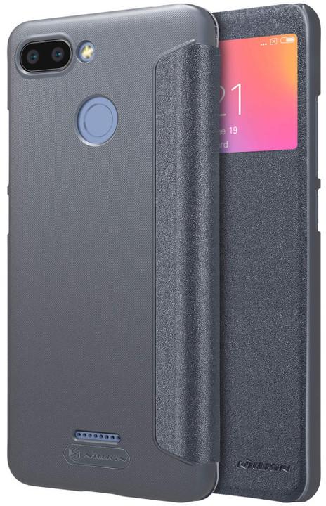 Nillkin Sparkle S-View Pouzdro pro Xiaomi Redmi 6, černý