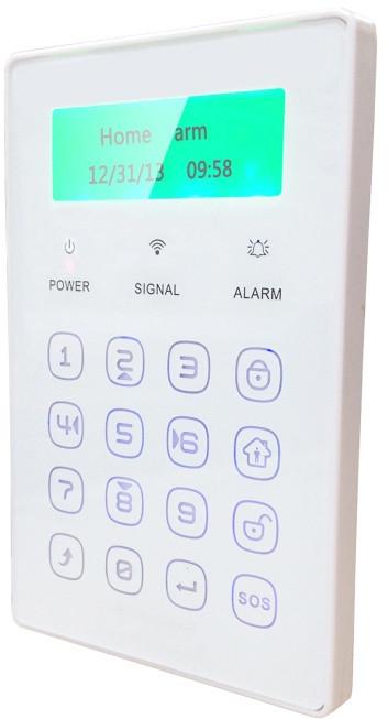 iGET SECURITY M3P13 - bezdrátová klávesnice s LCD