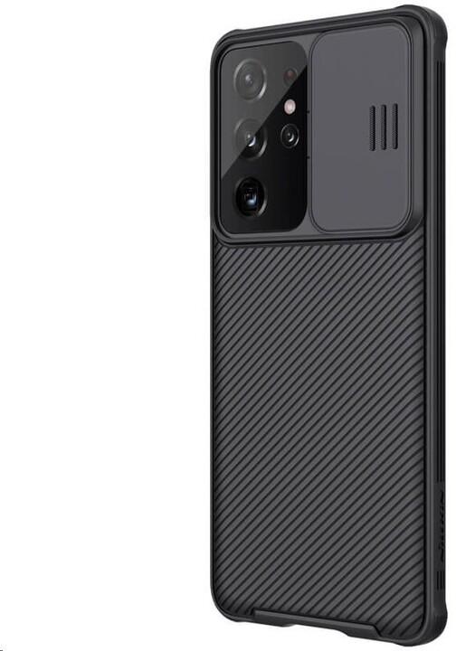 Nillkin zadní kryt CamShield Armor pro Samsung Galaxy S21 Ultra, černá
