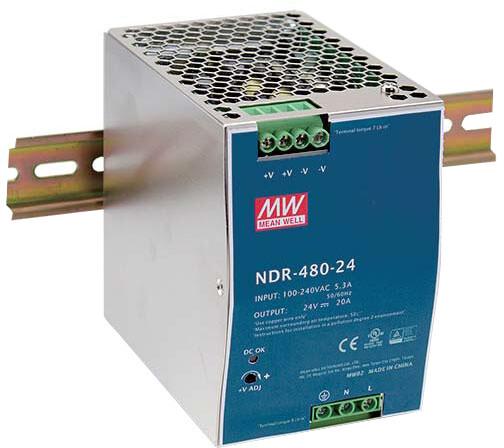D-LINK DIS-N480-48 - 480W, 48VDC, 90-264VAC
