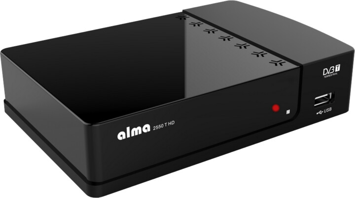 Alma 2550 T HD, černý